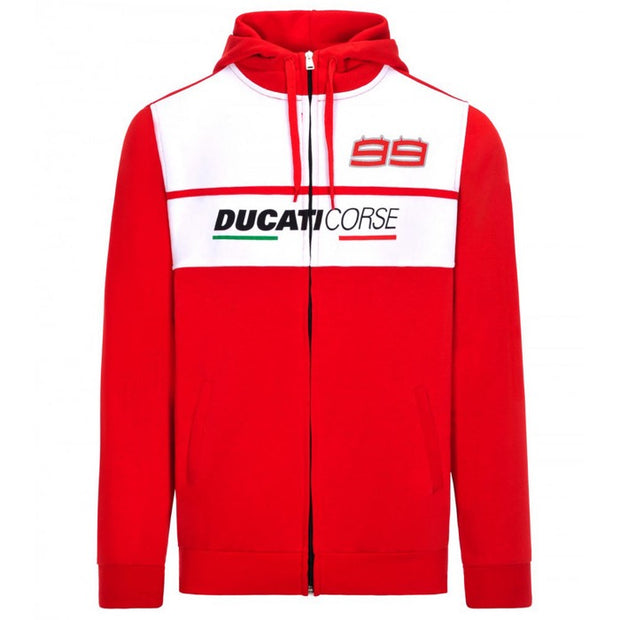 Hoodie Ducati Corse 99 - Men - Red - FanaBox