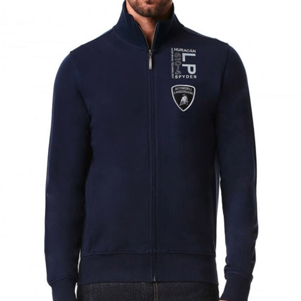 Lamborghini Huracan Spyder LP610 - 4 Sweatshirt - Men - Dark Navy - FanaBox