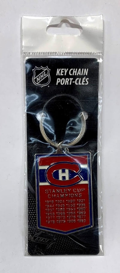 Montreal Canadiens Stanley Cup Champions Keychain - Accessories