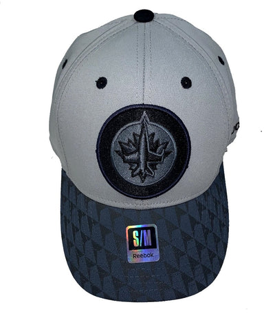 Winnipeg Jets Reebok 2Tone Flex Cap - Men - Grey