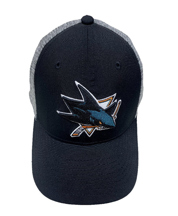 Adidas San Jose Sharks NHL Cap - Youth - Black