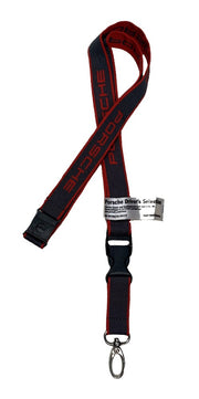 Porsche Lanyard Keychain - Accessories - Red