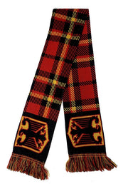 Germany Scarf - Men - Red & Black
