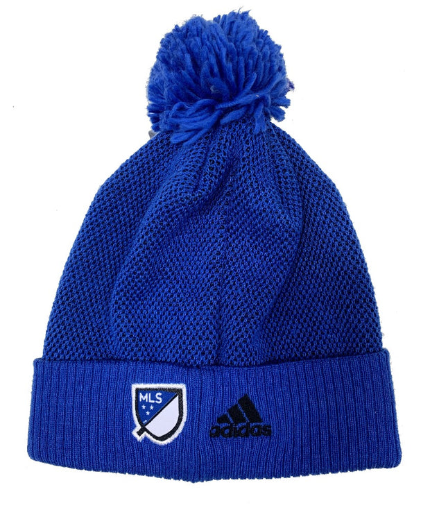 Adidas Montreal Impact Beanie with Pom  - Men - Blue