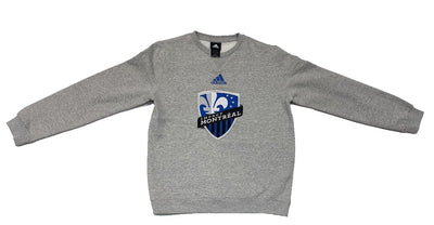 Youth Boys Adidas Montreal Impact Sweater - Kids - Grey