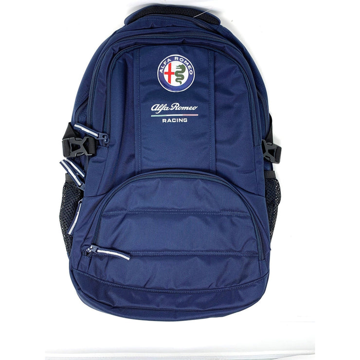 Alfa Romeo Racing F1 Team blue backpack rucksack holdall