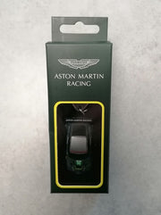 Aston Martin Racing Vantage Sterling Green Livery Keychain No. 95 Nicki Thiim, Marco Sorensen, Darren Turner Die Cast Car