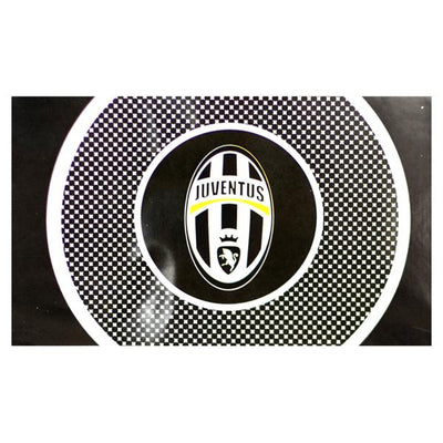 Juventus FC Soccer Logo Flag 5' x 3' - Accessories - Black and White