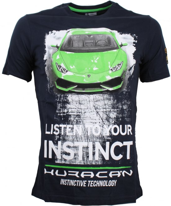 Lamborghini Huracan Instinct T-Shirt - Men - Blue - FanaBox