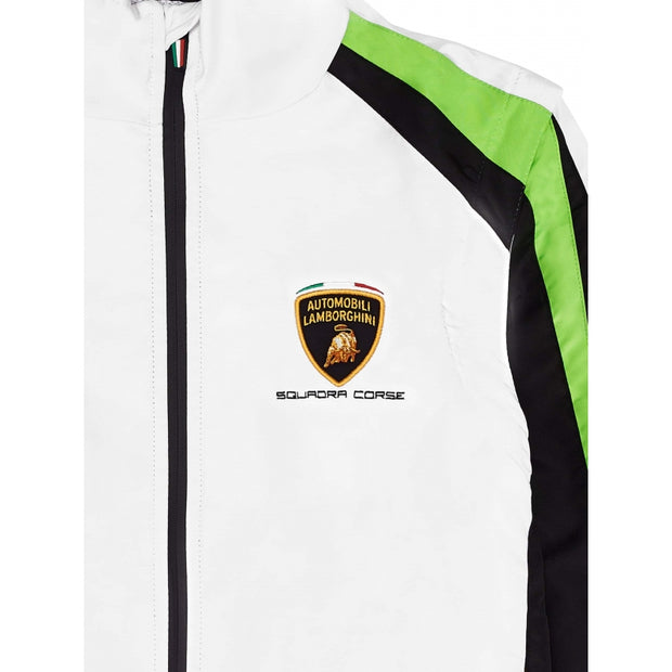 Lamborghini Squadra Corse Windbreaker and Sleeveless Vest - Men - White - FanaBox