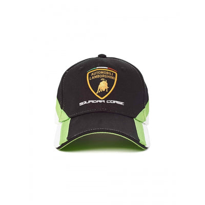 Lamborghini Squadra Corse Cap - Men - Black - FanaBox