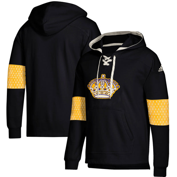 Los Angeles Kings Adidas Pullover Hoodie - Men - Balck