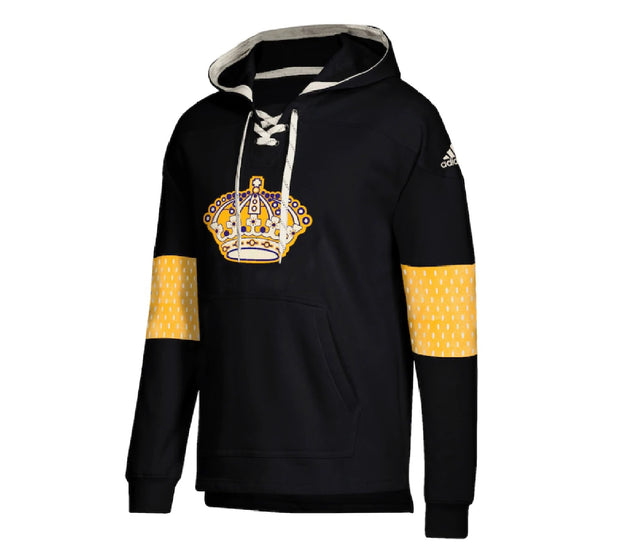 Los Angeles Kings Adidas Pullover Hoodie Front