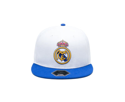 Adidas FC Real Madrid Cap - Men - White and Blue2
