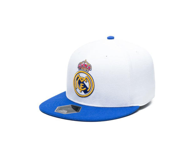 Adidas FC Real Madrid Cap - Men - White and Blue