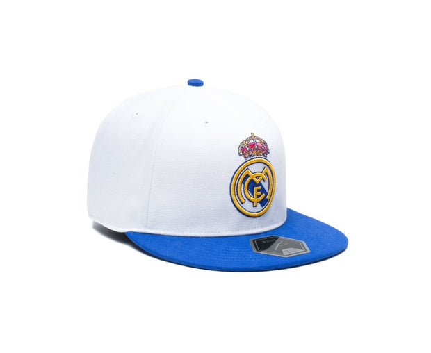 Adidas FC Real Madrid Cap - Men - White and Blue4