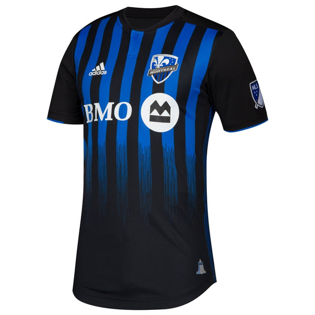 Adidas Montreal Impact Authentic Soccer Jersey - Men - Black