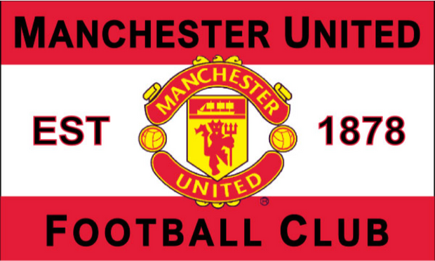 FC Manchester United Flag 5'' x 3'' - Accessories