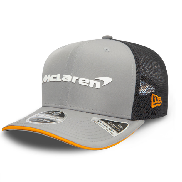 McLaren 2020 ABU DHABI Stretch Snap 9FIFTY Cap - Men - Grey