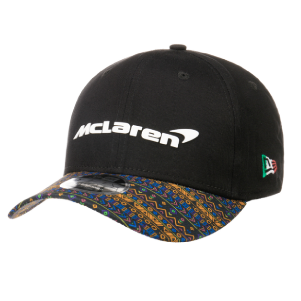 McLaren 2020 Special Edition Mexico New Era 9Fifty Stretch Cap - Men - Black