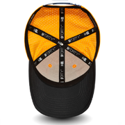 McLaren Team Replica 9FORTY Diamond Meshed SnapBack Cap - Men - Orange