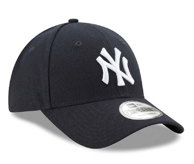 New York Yankees New Era Navy League 9FORTY Adjustable Hat - Men - Navy Blue