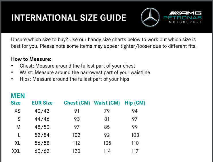 2021 Mercedes Benz AMG Petronas F1™ Team Polo - Men - Black
