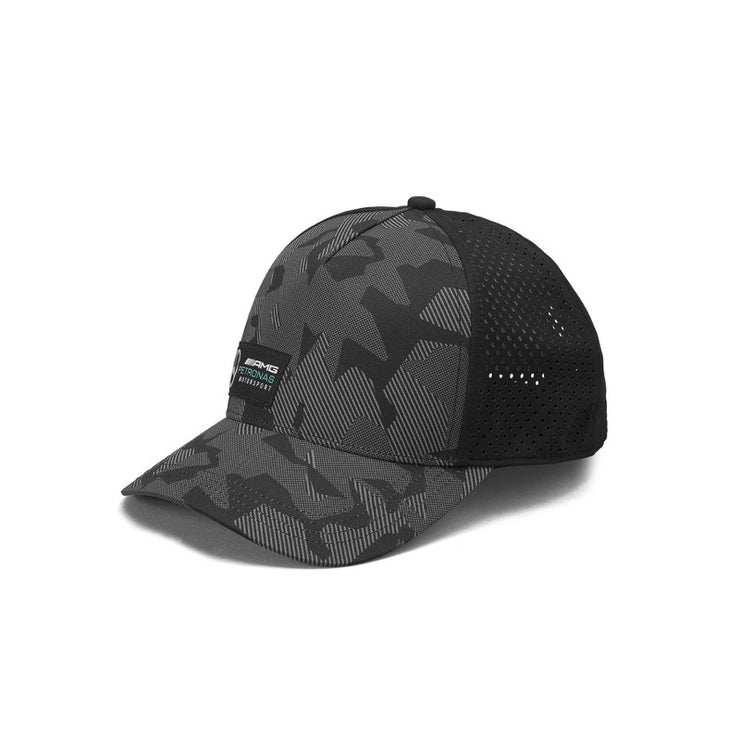 2019 Mercedes-AMG Petronas Motorsport Camo Cap - Men - Black - FanaBox