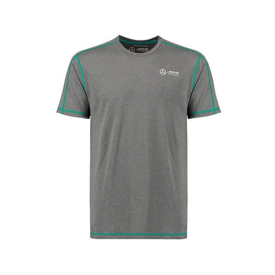 Mercedes AMG Petronas Fanwear Performance T-Shirt - Men - Grey - FanaBox