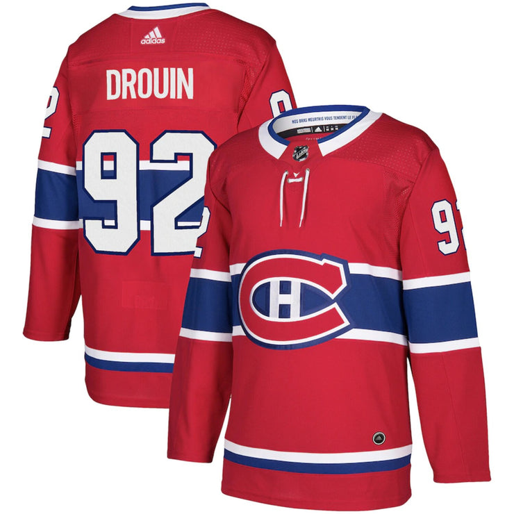 Montreal Canadiens Adidas Authentic Pro Jonathan Drouin Jersey - Men - Red