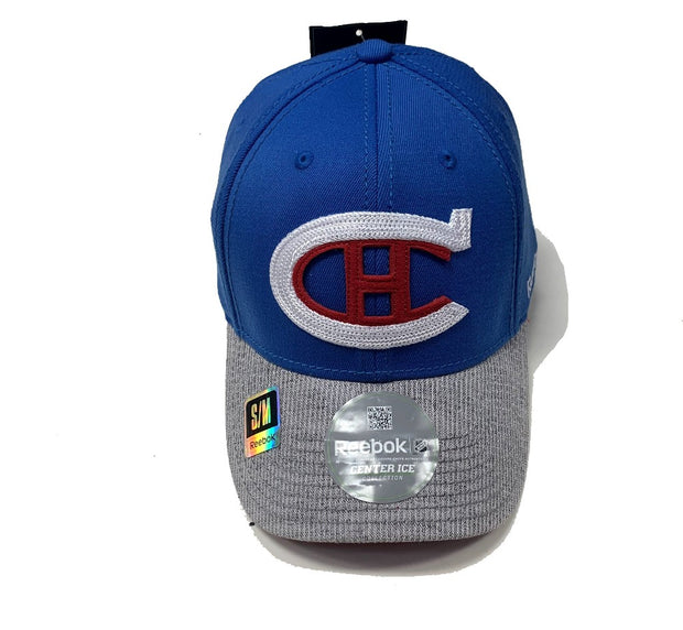 Montreal Canadiens Center Ice Collection Cap - Men - Blue & Grey