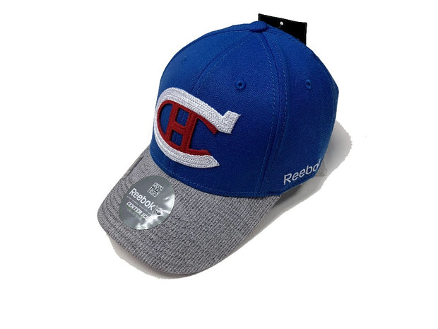 Montreal Canadiens Center Ice Collection Cap  Reebok Blue & Grey