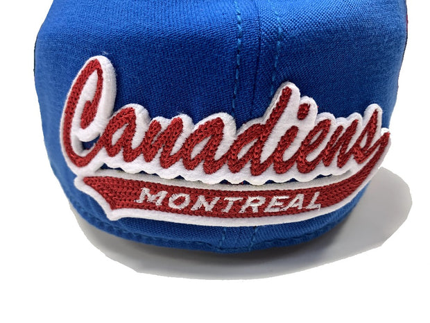 Montreal Canadiens Center Ice Collection Cap  Logo back