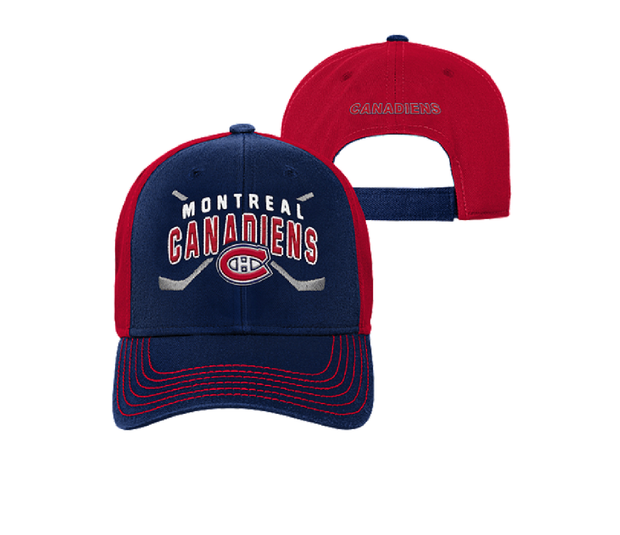 Montreal Canadiens NHL Cap - Youth - Blue & Red
