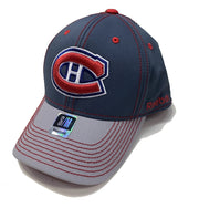 Montreal Canadiens Reebok 2Tone Closed Back - Men - Grey
