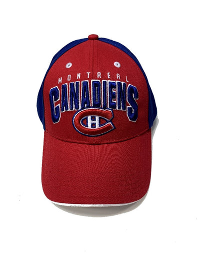 Fan Favorite Montreal Canadiens NHL Cap - Youth - Red & Blue
