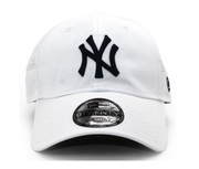 New York Yankees New Era 9FORTY Adjustable Hat - Men - White