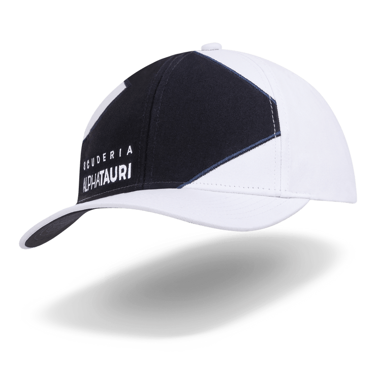 Scuderia AlphaTauri F1™ Team line Cap - Men - White and Navy