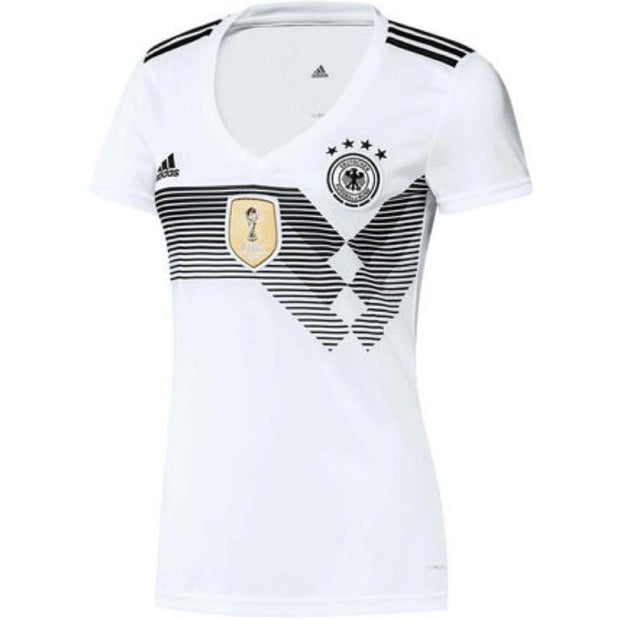 Adidas FC Germany Home Jersey - Women - White