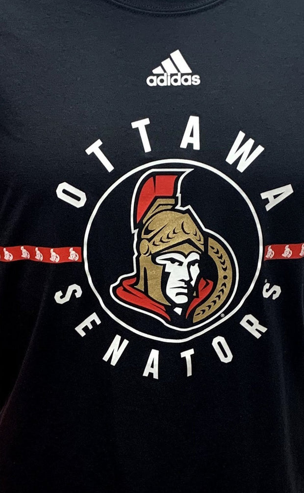 Ottawa Senators Adidas T-Shirt - Men - Black