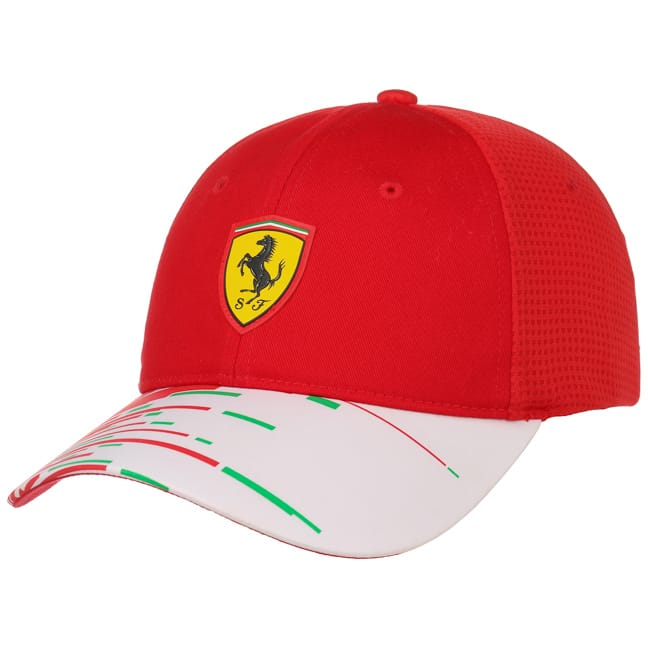 Puma Scuderia Ferrari Team Cap - Kids - Red - FanaBox