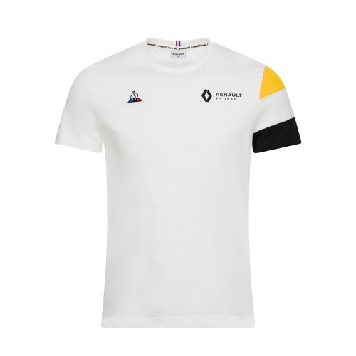 2019 Renault F1® Team Fan T-shirt - Men - White - FanaBox