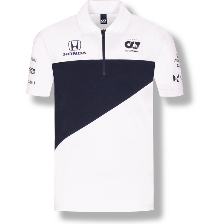 Scuderia AlphaTauri Team Polo - Men - White