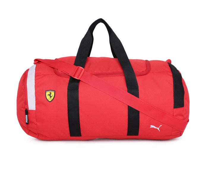 Puma Scuderia Ferrari Fanwear Duffle Bag - Accessories - Red - FanaBox