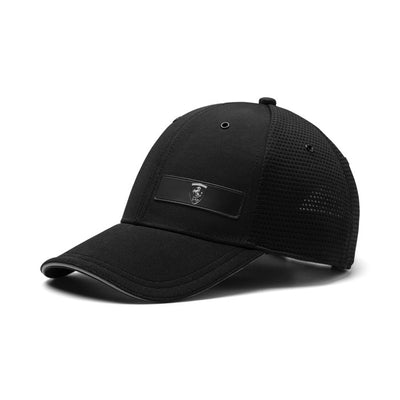 2019 Puma Scuderia Ferrari Lifestyle Baseball Cap - Men - Black - FanaBox