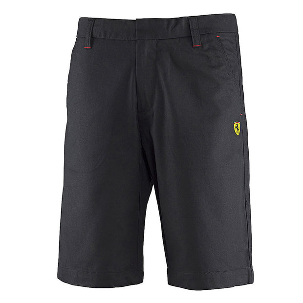 Scuderia Ferrari Bermuda Shorts - Men - Black - FanaBox