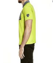 Lamborghini Techno  Dri-Fit Polo - Men - Lime Green
