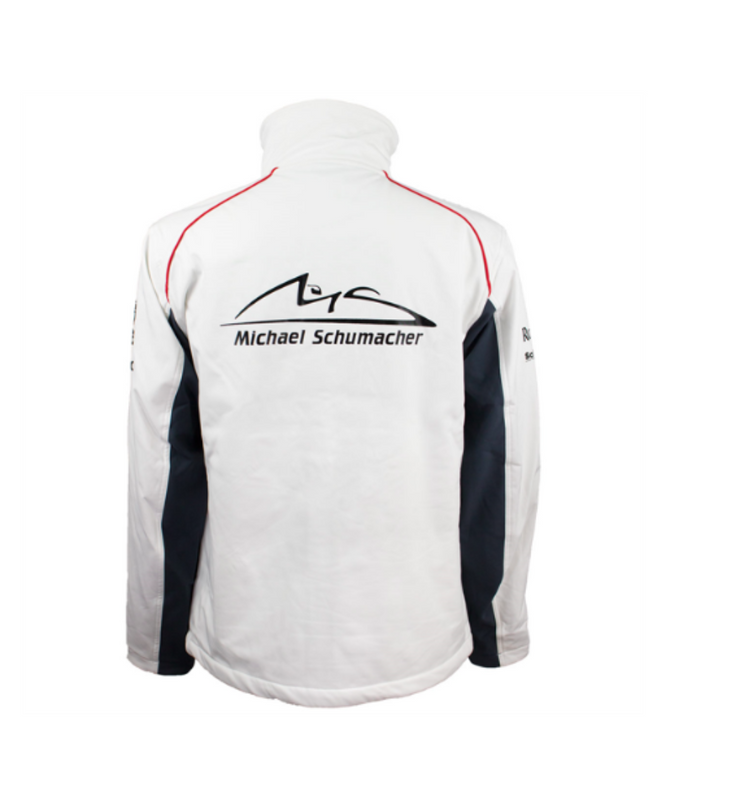 Michael Schumacher Softshell Jacket Sponsor - Men - White