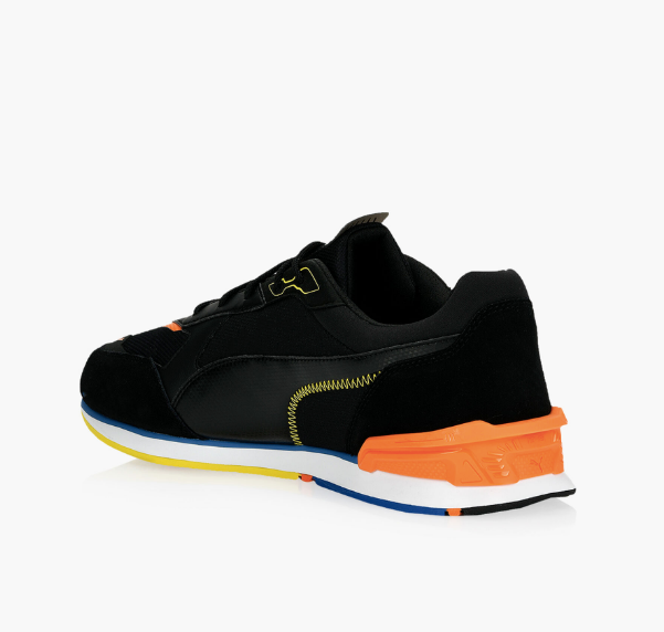 Puma Porsche 911 Legacy Collection sneaker running shoes - Men - Black Carrot and Sapphire