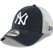 New York Yankees Navy Cooperstown Collection 1934 Trucker NEW ERA 9FORTY Adjustable Hat - Men - Blue